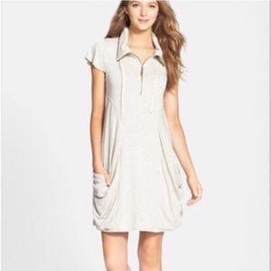 Kensie Half Zip Up Dress XL